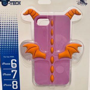 Disney Park DTech iPhone 8 7 6S Case 3D Figment